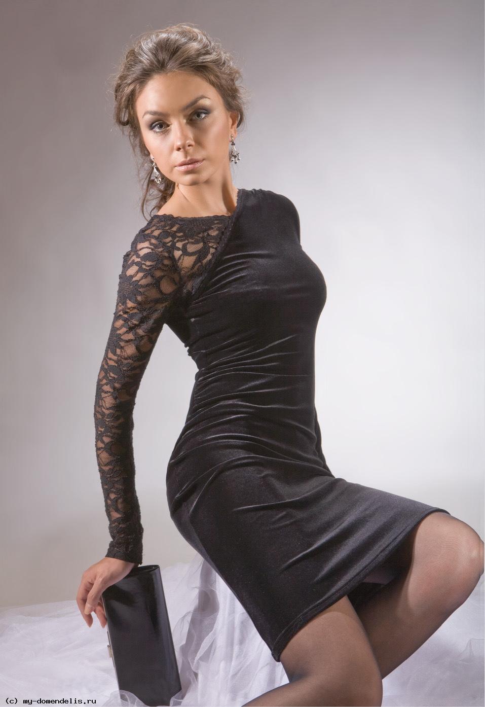 нарядные длинные платья для полных